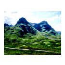 Glencoe 3, the Highlands, Scotland by David Rankin