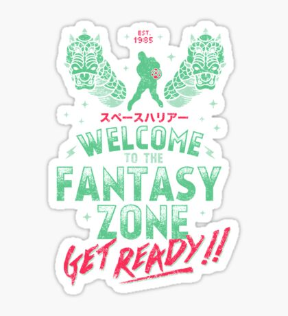 Get Ready! Sticker