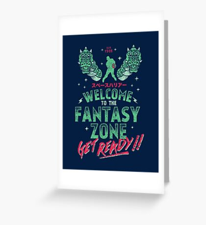 Get Ready! Greeting Card