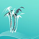Palm Trees Graphic design 2 by 4Flexiway