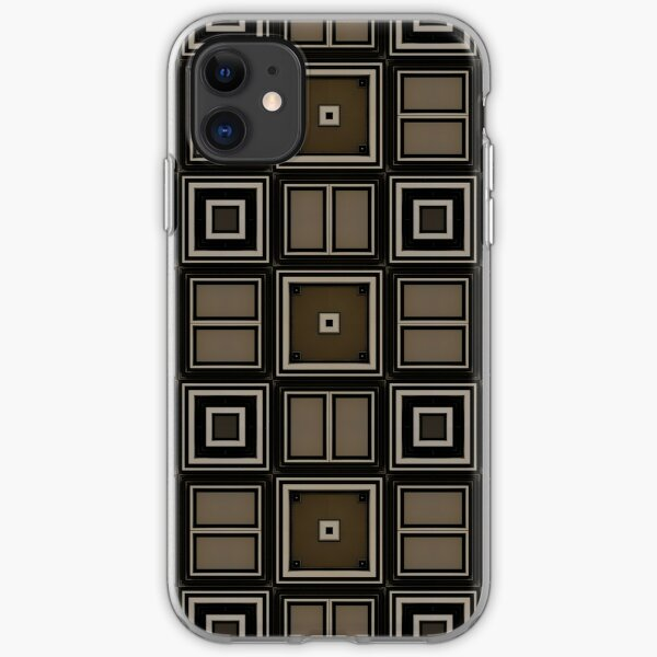 Earthy Taupe Design by Julie Everhart iPhone Soft Case