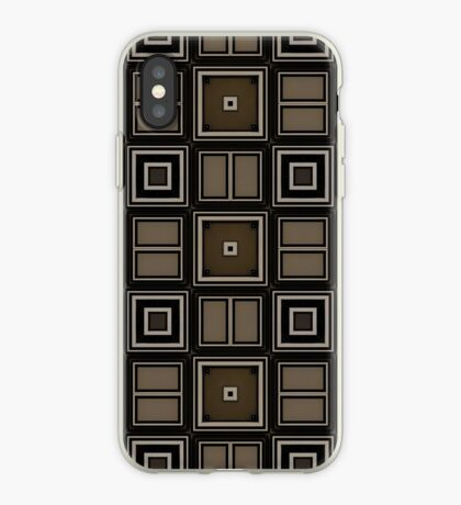 Earthy Taupe Design by Julie Everhart iPhone Case