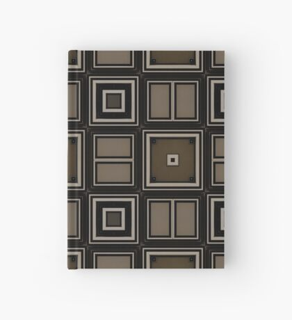 Earthy Taupe Design by Julie Everhart Hardcover Journal