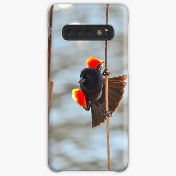 Red-winged Blackbird  Samsung Galaxy Snap Case