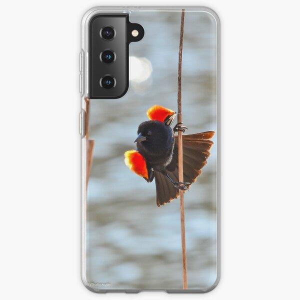 Red-winged Blackbird  Samsung Galaxy Soft Case