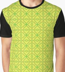 Patterns::Yellow Tiles Graphic T-Shirt