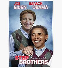 Brothers | Joe Biden & Barack Obama, not just friends, brothers! Poster