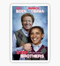 Brothers | Joe Biden & Barack Obama, not just friends, brothers! Sticker
