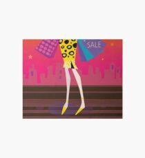 Fashion woman Legs : Original art illustration Art Board