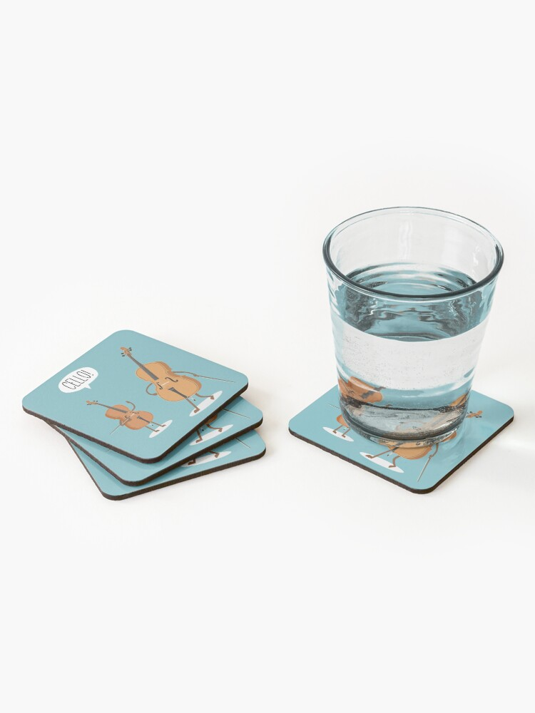 Alternate view of Cello! Coasters (Set of 4)