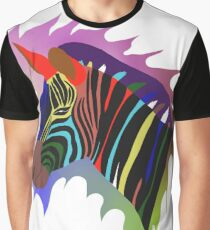 tete de zèbre Graphic T-Shirt