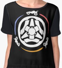Rocket League Video Game Inspired Funny Gifts Chiffon Top