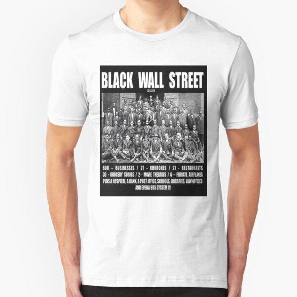 Black Wall Street Slim Fit T-Shirt