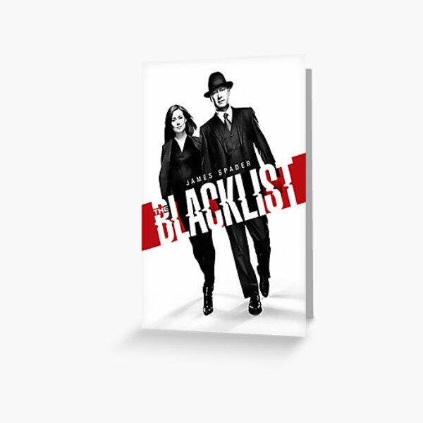 La liste noire - James Spader New Design Carte de vœux