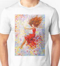 Girl on the swing T-Shirt