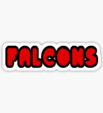 Falcons Font Sticker