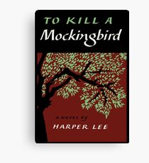 To Kill a Mockingbird By Harper Lee Canvas Print