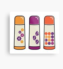 New designers Thermo bottle Metal Print