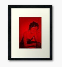 Jaime Murray - Celebrity Framed Print