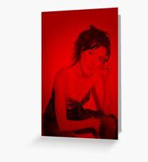 Jaime Murray - Celebrity Greeting Card