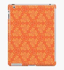 Patterns::Orange Blades iPad Case/Skin