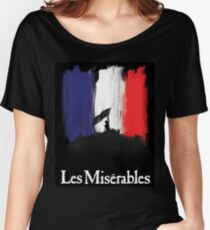 Les Miserables poster Women's Relaxed Fit T-Shirt