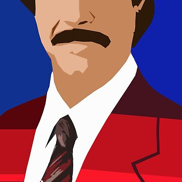 The Anchorman by 45thAveArtCo
