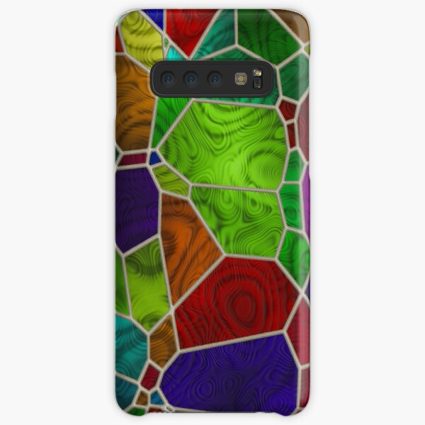 Stained Glass Design by Julie Everhart Samsung Galaxy Snap Case
