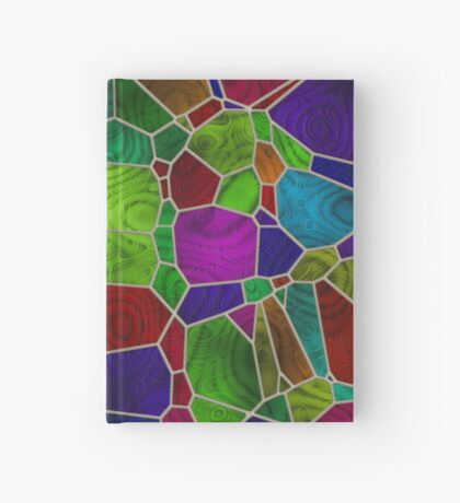Stained Glass Design by Julie Everhart Hardcover Journal