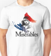 Les Miserables logo girl Unisex T-Shirt