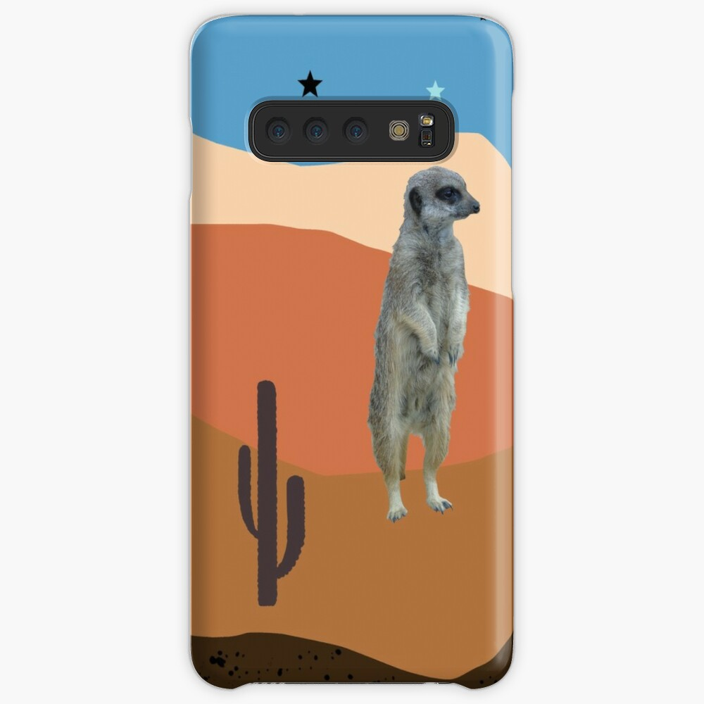 Desert Meercats and Cactus Case & Skin for Samsung Galaxy