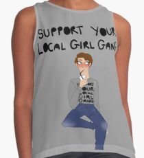 Support Your Local Girl Gang Contrast Tank