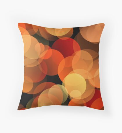 Dots Upon Dots by Julie Everhart Throw Pillow