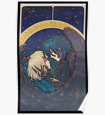 Starry Sky - Howl and Sophie Poster