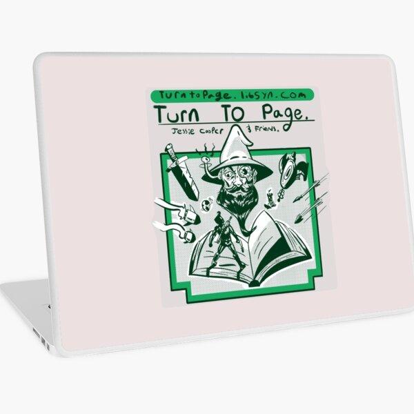 Turn to Page Artwork Laptop Skin