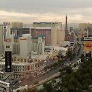 The center of the Las Vegas strip by urbanphotos