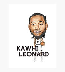Kawhi Leonard Photographic Print