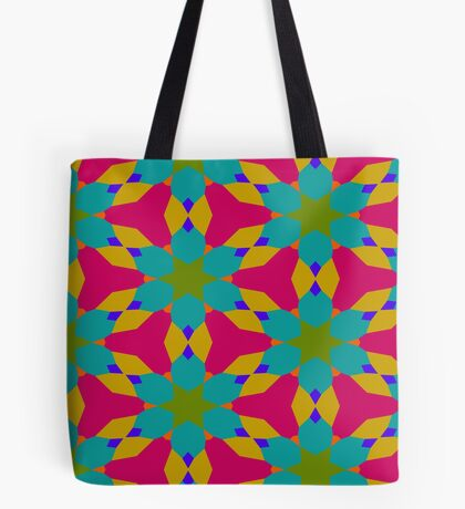 Groovy Flower Design by Julie Everhart Tote Bag