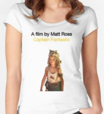 CAPTAIN FANTASTIC // MATT ROSS (2016) Women's Fitted Scoop T-Shirt