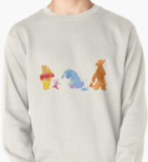 Friends together Inspired Silhouette Pullover