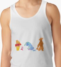 Friends together Inspired Silhouette Tank Top