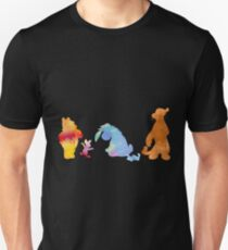 Friends together Inspired Silhouette Unisex T-Shirt
