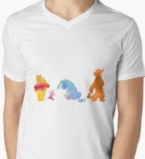 Friends together Inspired Silhouette T-Shirt