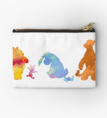 Friends together Inspired Silhouette Studio Pouch