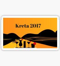 Crete 2017 Sticker