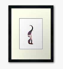 Space is where the Imagination Lies Framed Print