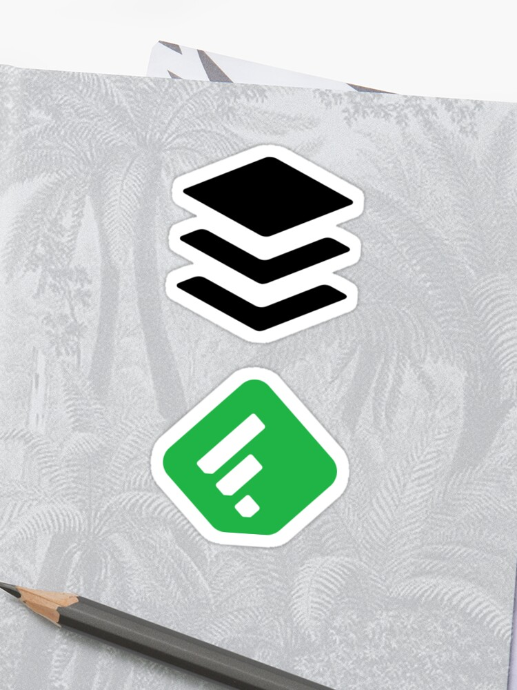 Buffer and Feedly Stickers | Sticker