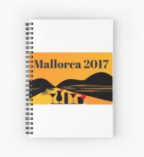 Mallorca 2017 Spiral Notebook