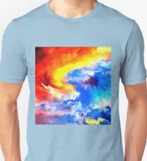 heaven sunset sunrise sky abstract T-Shirt