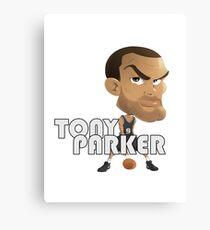 Tony Parker Canvas Print
